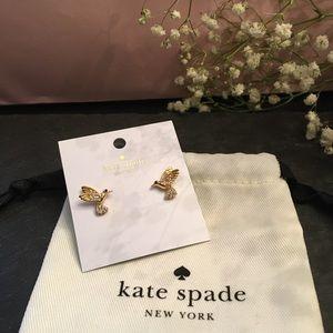 🆕 Brand NWT Kate Spade NY ♠️ HummingBird Earrings